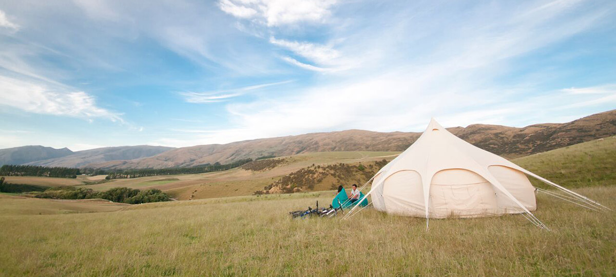 Untouched Southland Glamping in Style