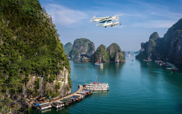 Complimentary Seaplane Flight Over Ha Long Bay