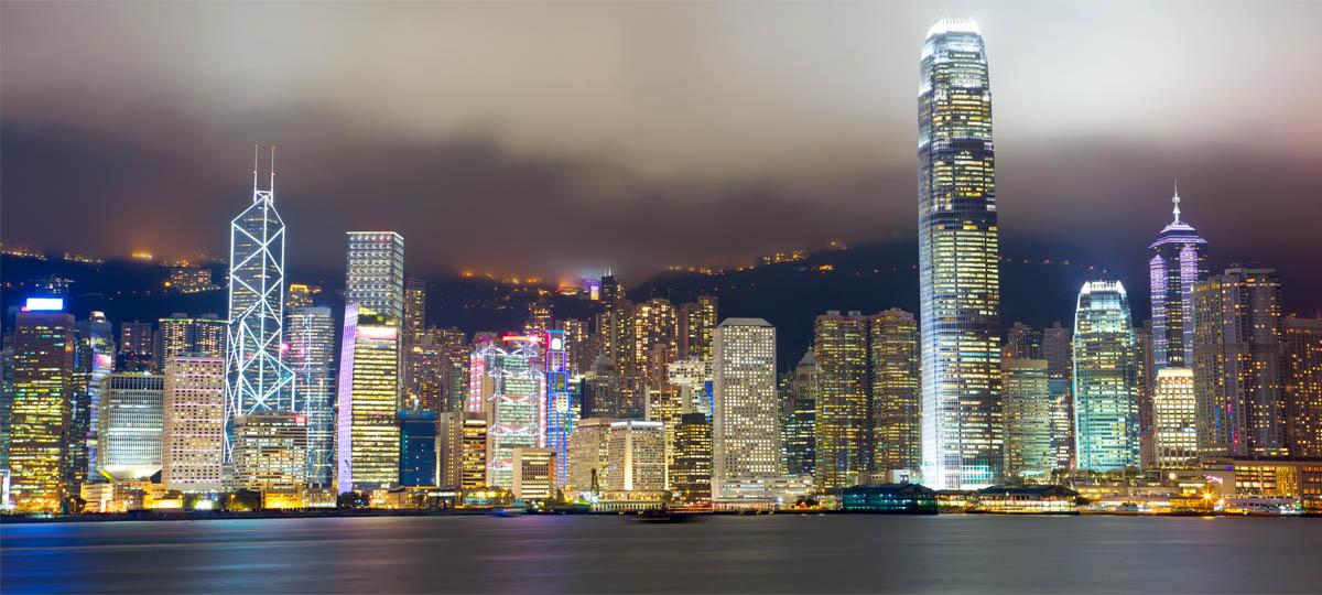 China Cruise Itinerary Hd Glittering Hong Kong By Night