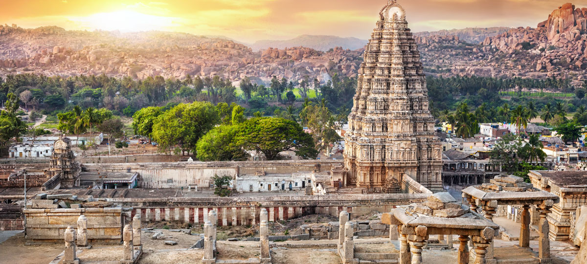 Walk through centuries of history at Hampi