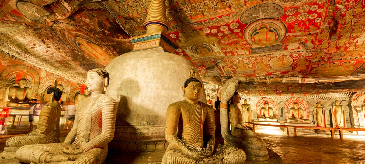 Dambulla Cave Rock Temple