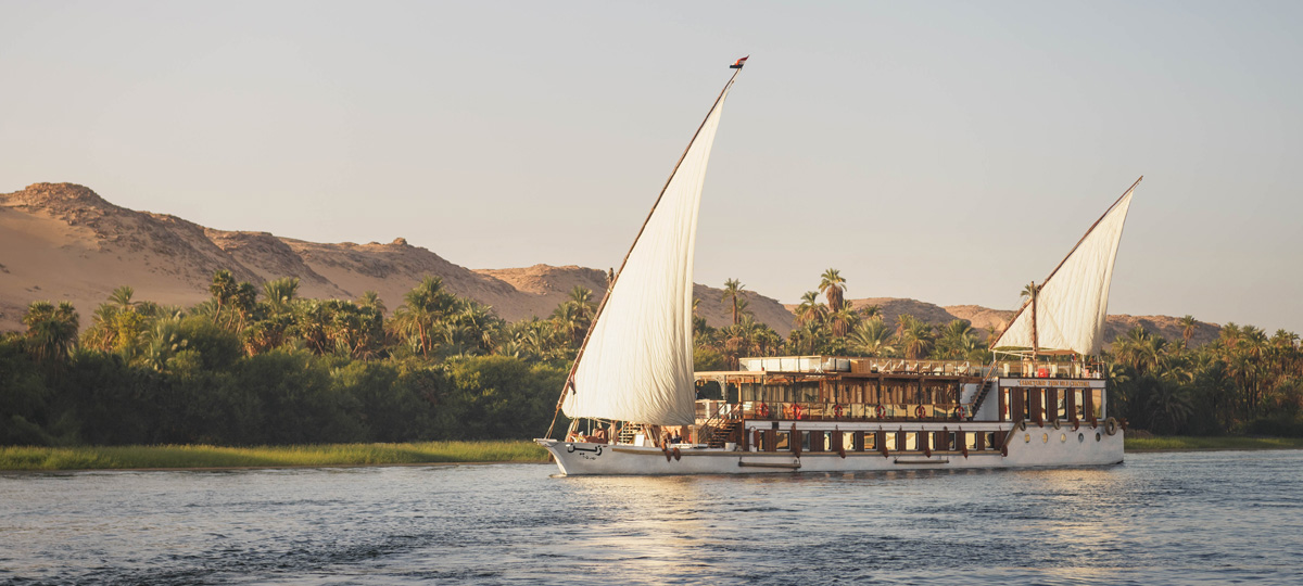 The Floating Diamond on the Nile